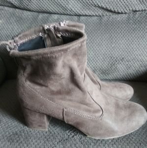 Bamboo Ankle Booties sz 9